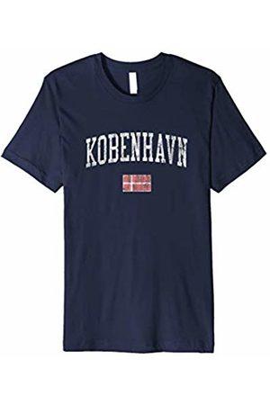 Jim Shorts Copenhagen Denmark T-Shirt Vintage Sports Design Flag Tee