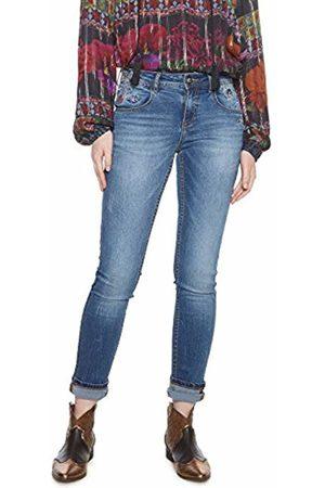 Desigual Women's Denim_refriposas Slim Jeans