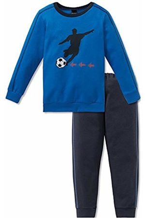Schiesser Boy's Fußball Kn Anzug Lang Pyjama Sets