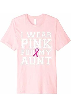 Breast Cancer Awareness Tees I Wear for My Aunt Breast Cancer Awareness T-shirt