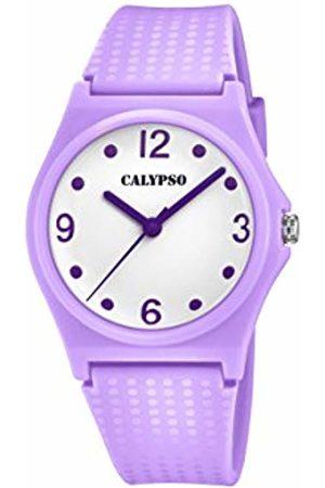 Calypso Girls Analogue Classic Quartz Watch with Plastic Strap K5743/2