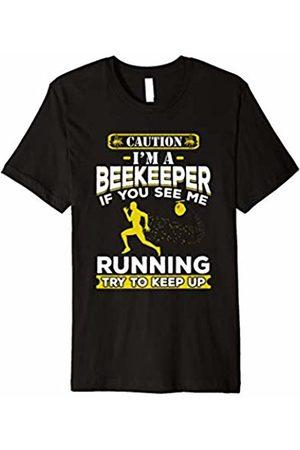 Save The HoneyBees Beekeeping Shirts BEEKEEPER If You See Me Running Save The HoneyBees T-Shirt
