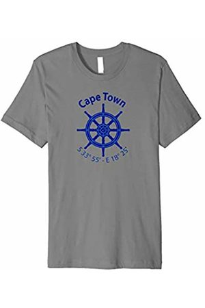Jimmo Designs Cape Town Nautical Coordinates T-Shirt For Sailors