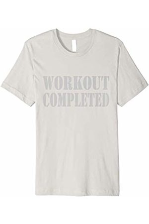 Sweat Revealing Workout Shirt Workout Completed Sweat Reveal T-Shirt