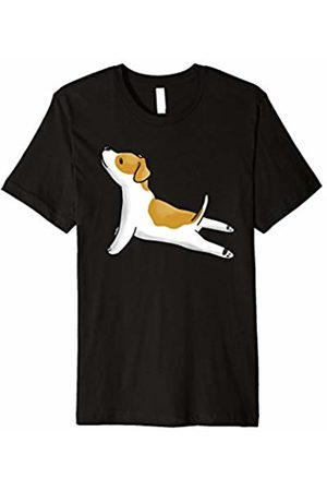 Funny Jack Russell Terrier Apparel Jack Russell Terrier Yoga Pose T-Shirt