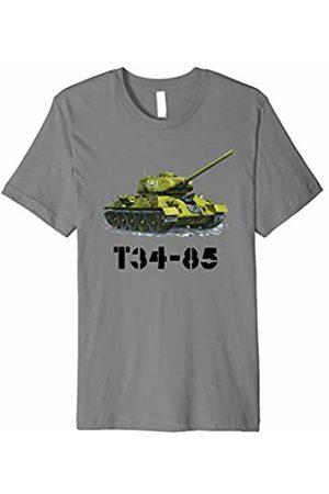 Tanks of War Tees T34-85 Tank shirt - Soviet Russian WWII Tshirt