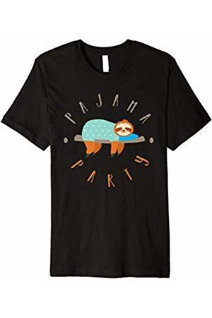 Morning Glass Sloth Pajama Party Sleepover T-Shirt