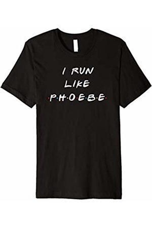 Birch and Bark I Run Like Phoebe Funny Fitness Friends T Shirt