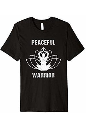 Peaceful Yoga and Meditation Apparel Peaceful Warrior Yoga and Meditation T-Shirt