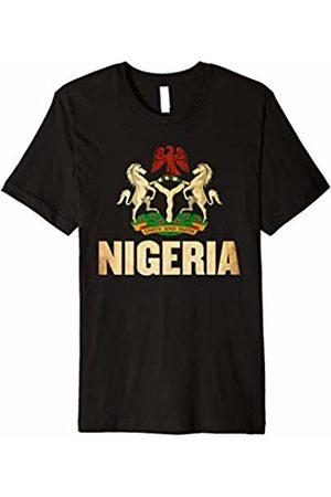 Nigerian Pride Tee Nigeria Cheer Jersey 2018 - Football Nigerian T-Shirt