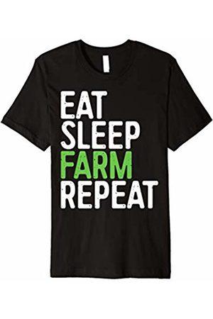 Eat Sleep Farm Repeat Shirts Eat Sleep Farm Repeat T-Shirt Funny Farmer Gift Shirt