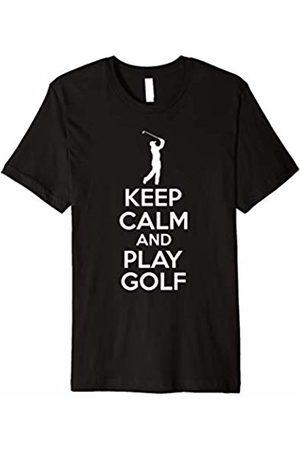 GolfTeez Keep Calm And Play Golf T-Shirt