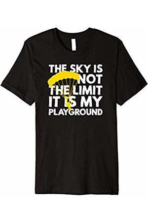 Up In The Air Over This The Sky Is Not The Limit... Paragliding T Shirts
