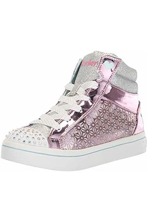 Skechers Girls Trainers - Girls' TWI-Lites-Glitter-Ups Hi-Top Trainers