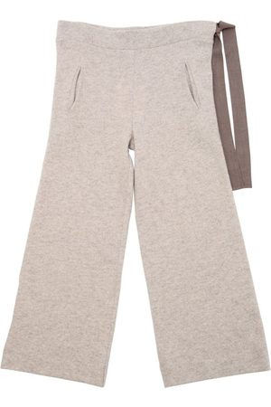 Unlabel Wool Knit Pants W/ Drawstring