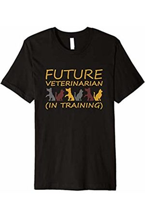 Groovy Looking Designs Future Veterinarian (In Training) Funny Animal Lover T-Shirt