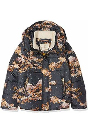 Scotch&Soda R´Belle Girl's Puffer Detachable Teddy Collar in Short Length Jacket