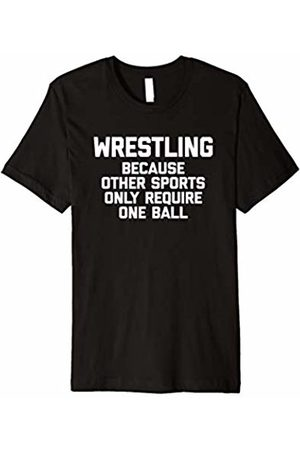 NoiseBot Wrestling Because Other Sports Only Require One Ball T-Shirt
