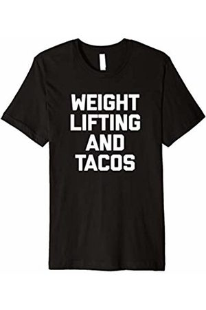 NoiseBot Weightlifting & Tacos T-Shirt funny saying gym workout taco