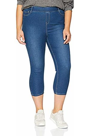 Simply Be Women's Amber Crop Jeggings Skinny Jeans, (Mid )