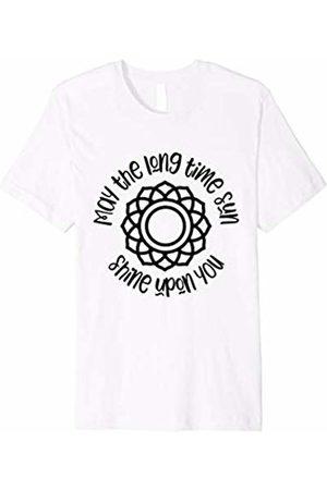 Kundalini Clothing Awakening Gifts Kundalini Yoga Shirt May The Long Time Sun Shine Upon You