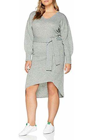 Lost Ink Women's Knitted Belt Dress