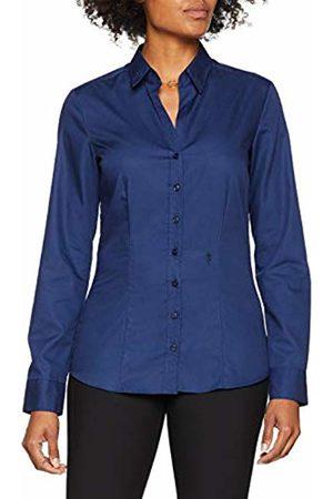 Seidensticker Women's Hemdbluse Langarm Slim Fit Uni Bügelfrei Blouse