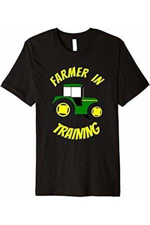 Funny Farmer Shirts Tractor Design Farmer In Training Tractor Shirt