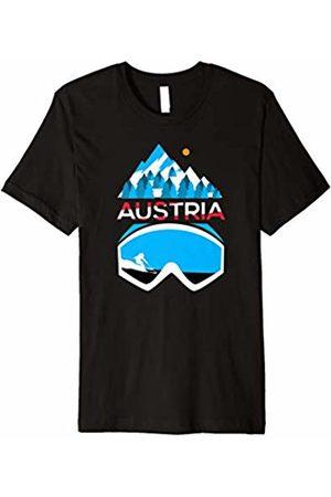 Austria T Shirts & Retro Ski Clothing Austria t shirt - ski & snowboard Austrian clothing