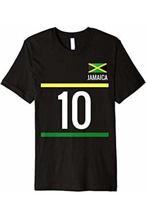 Soccer Tshirt 2018 Jamaica Soccer T-Shirt - Jamaican Football Jersey 10