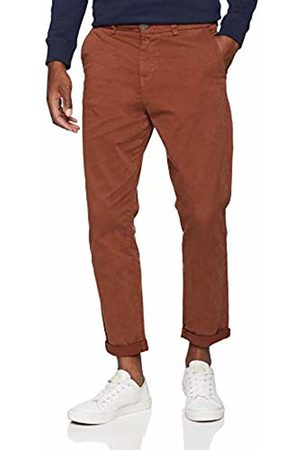 New Look Men's Tapered Trousers, (Mid )