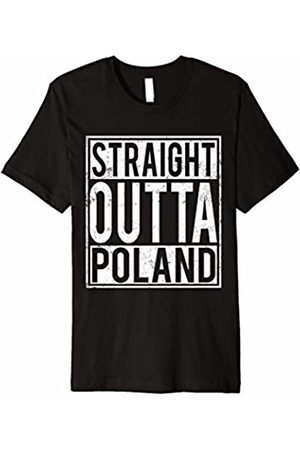 Straight Out T-shirt NSM&6N Straight Outta Poland T-shirt Polish Home