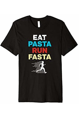 Running Tees - By Le Yogi Eat Pasta Run Fasta' Cool Running Gift Shirt