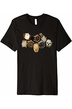 Watch T-Shirts Luxury Vintage Watches Horology Time Wristwatches T-Shirt