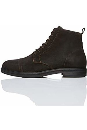 FIND Men's Lace up Oiled Suede Boot