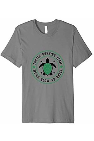 Funny Turtle Running Team Shirts Turtle Running Team Funny Slow Runners T-Shirt