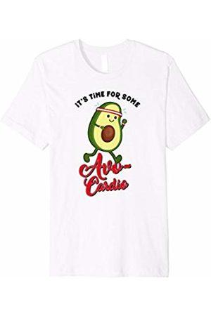 Funny Avocado Gifts by CheesyB Avo-cardio Shirt Funny Avocado Workout Avocardio T Shirt