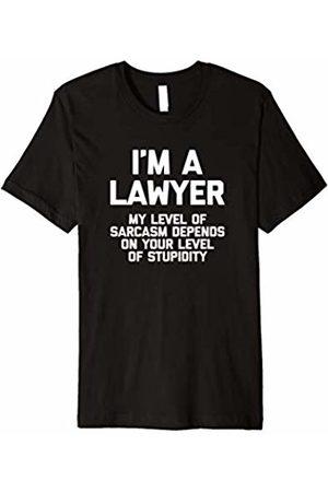 NoiseBot Funny Lawyer Shirt: I'm A Lawyer T-Shirt funny saying humor