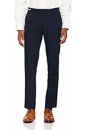 Farah Men's Oak 4 Way Stretch Trousers, (Navy)