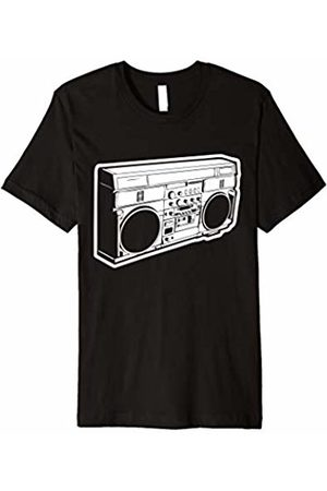 NoiseBot Boombox T-Shirt funny sarcastic novelty cool retro music 80s