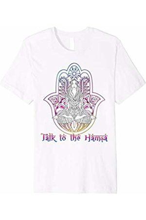 Talk To The Hamsa Shirt Jewish Saying Yoga Lover T-Shirt