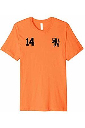 The Retro Club House Retro Netherlands Soccer Jersey Nederland Football T-Shirt