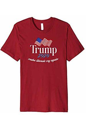 Pro Trump Tees Donald Trump Election 2020 Make Liberals Cry Again GOP Shirt