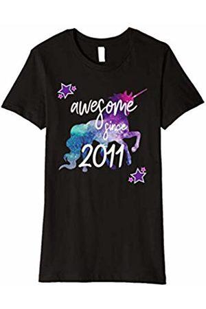 Awesome Since Unicorn Birthday Shirts Awesome Since 2011 Unicorn Birthday Shirt