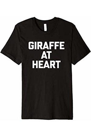 NoiseBot Giraffe At Heart T-Shirt funny saying sarcastic novelty cool