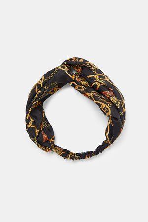 Zara CHAIN PRINT HEADBAND
