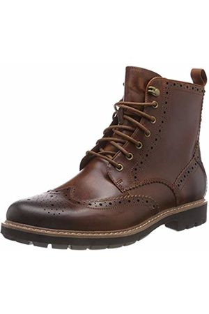 Clarks Men's Batcombe Lord Chelsea Boots, (Dark Tan Lea-)
