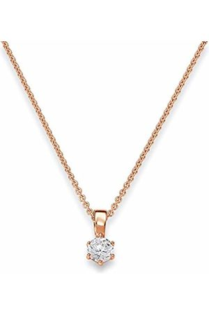 Viventy Women's Pendant Rhodium Plated Zirconia White 772122