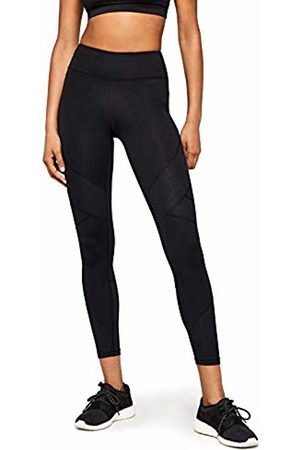 AURIQUE Embossed Panel Sports Tights