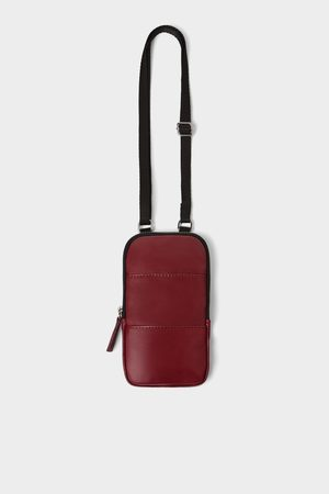Zara LEATHER MOBILE PHONE CARRYING CASE